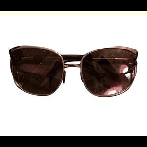 Tom Ford brown temple/lens Margaux Sunglasses
